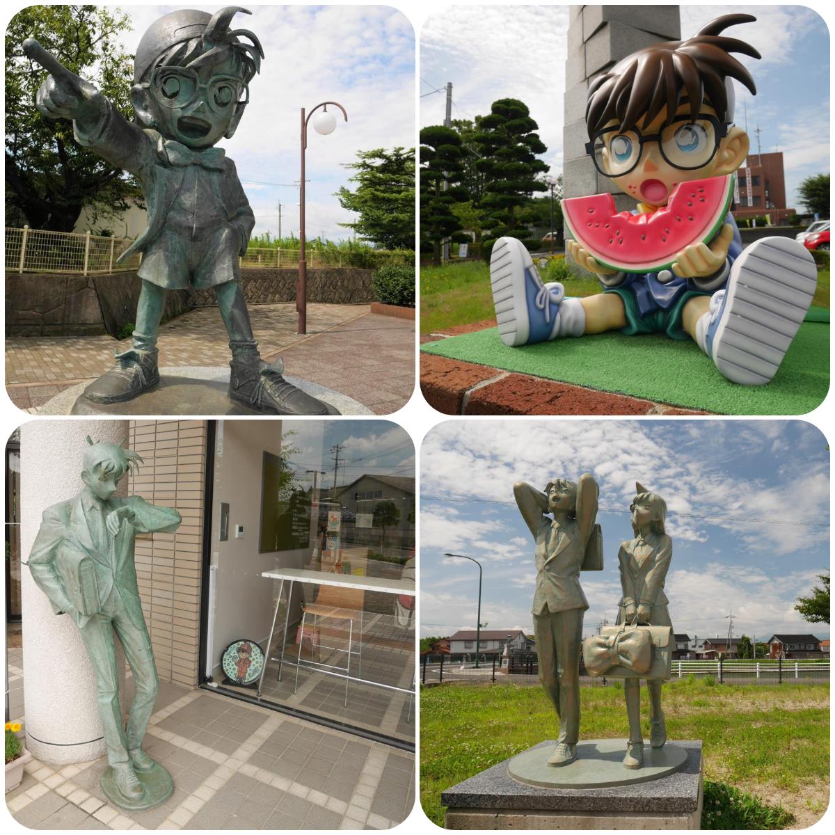 柯南小鎮雕像