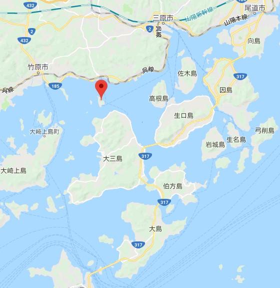 大久野島位置