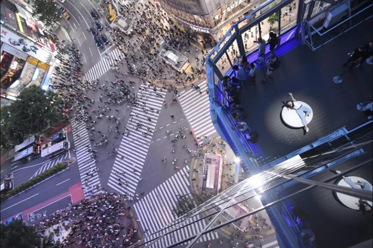 Photo of 澀谷109 Men's有展望台?由空中花園俯瞰東京澀谷必拍十字路口