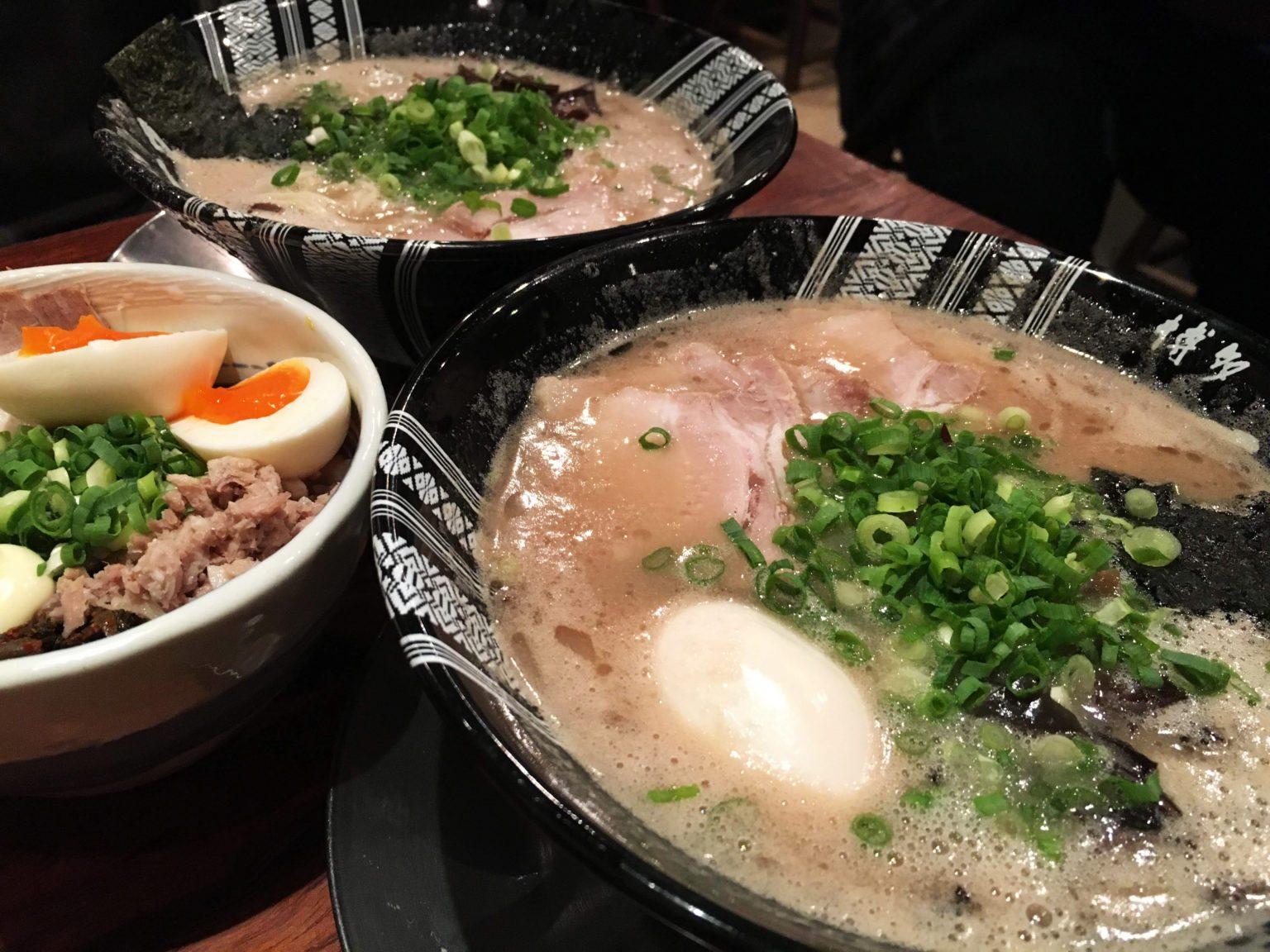 Photo of 博多一双拉麵(一雙拉麵)–超濃厚豬骨湯頭在地名店–福岡必吃拉麵