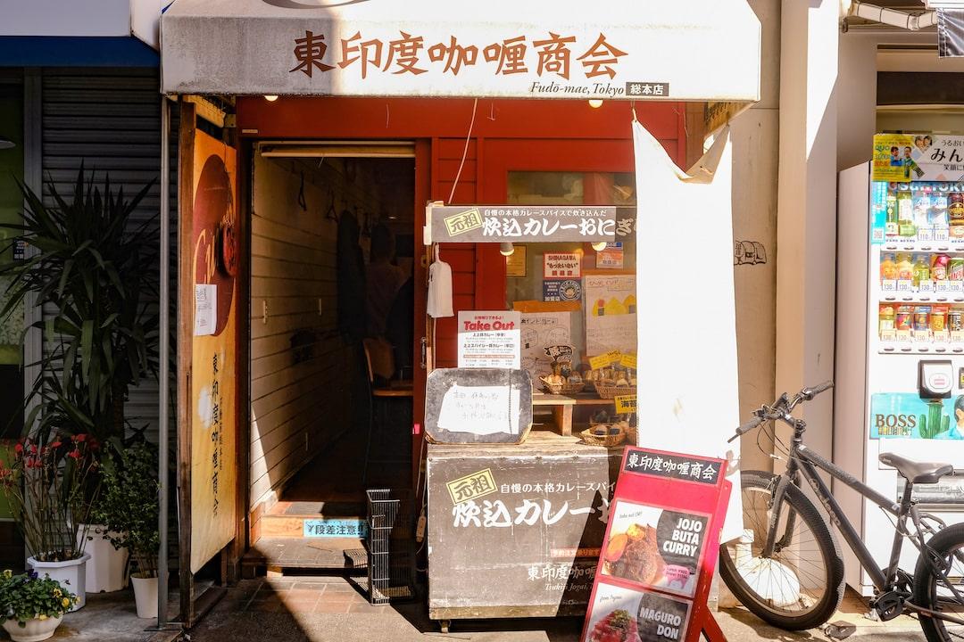 東印度咖哩商会 店門