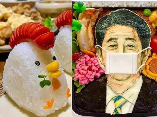 Photo of 超有趣的日本創意便當!卡通人物、搞笑、反映時事樣樣來~