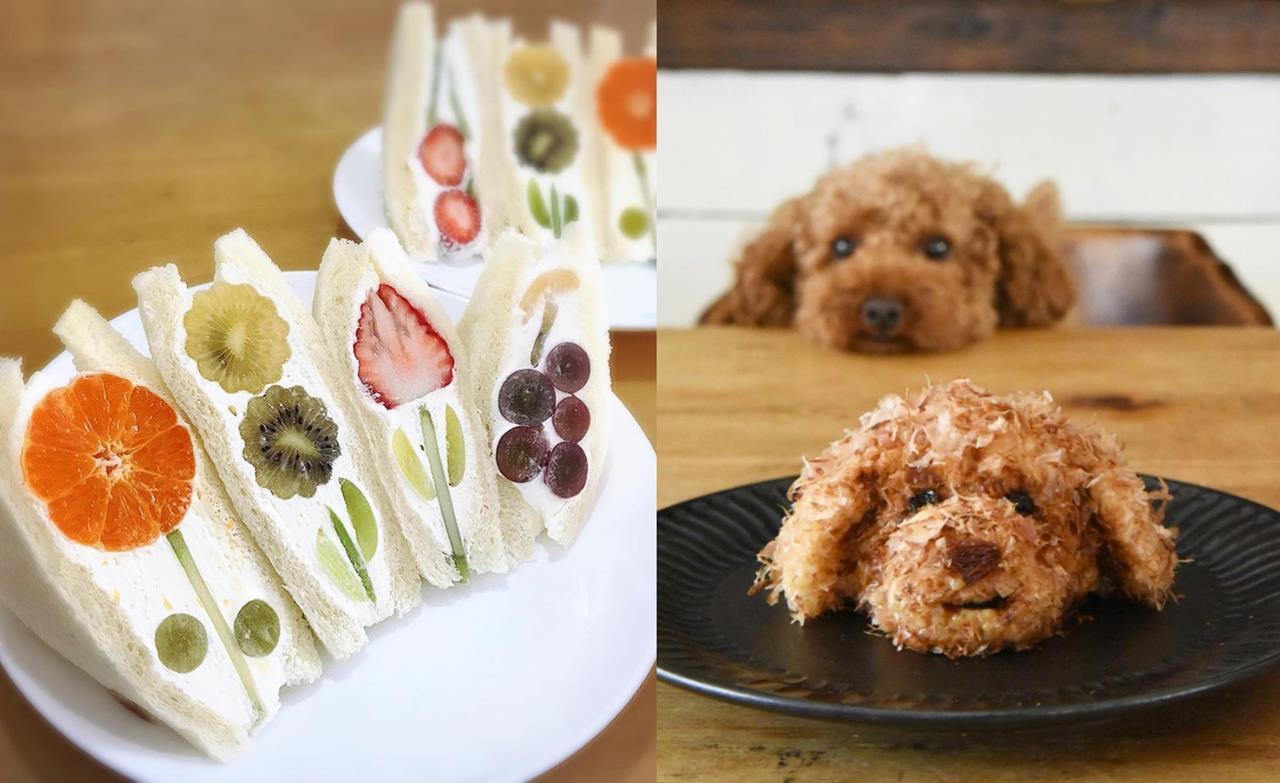 Photo of 超美花朵般的水果三明治自己做!日本5個美食創意,跟著櫻花妹製作網美下午茶吧!