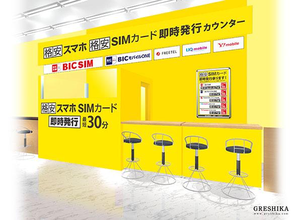 BIC SIM合作店家申請櫃台
