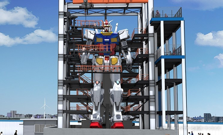 Photo of 日本全國鋼彈Gundam朝聖地4選!全新18公尺、1比1可動鋼彈將在橫濱登場!