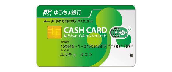 日本郵局銀行提款卡