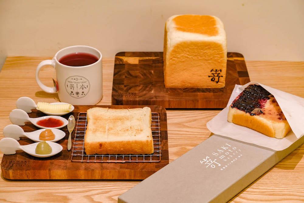 Photo of 日本高級生吐司專門店「嵜本 SAKImoto Bakery」二號店進駐101!還有限量巧克力生吐司!