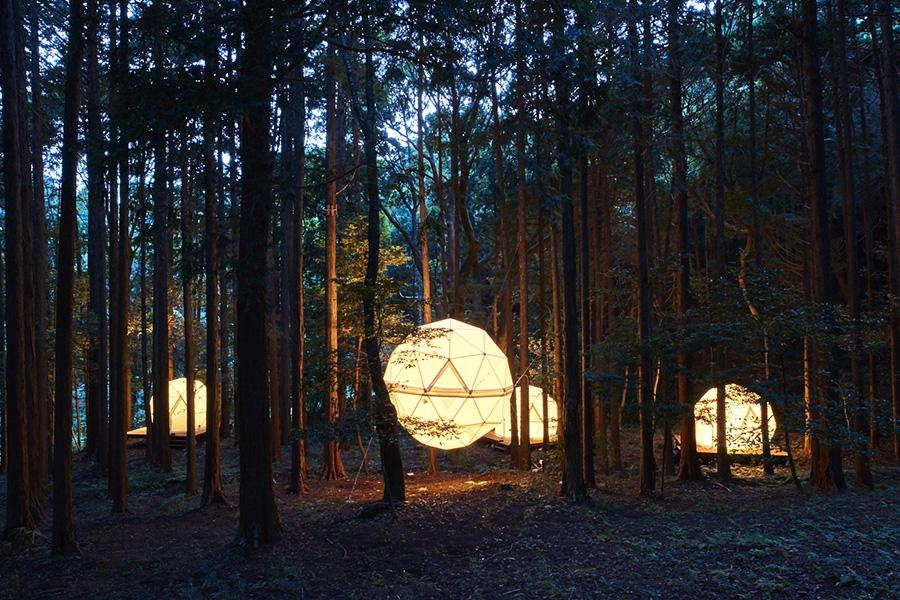 Photo of 來静岡 INN THE PARK住宿公園、體驗超特別的飄浮球體客房吧~~