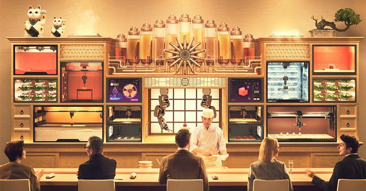 Photo of (東京)3D印刷的壽司店?Sushi Singularity–你想嘗試看看嗎?