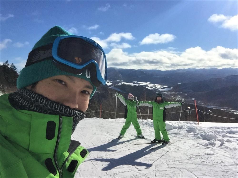 日本渡假村派遣滑雪工作